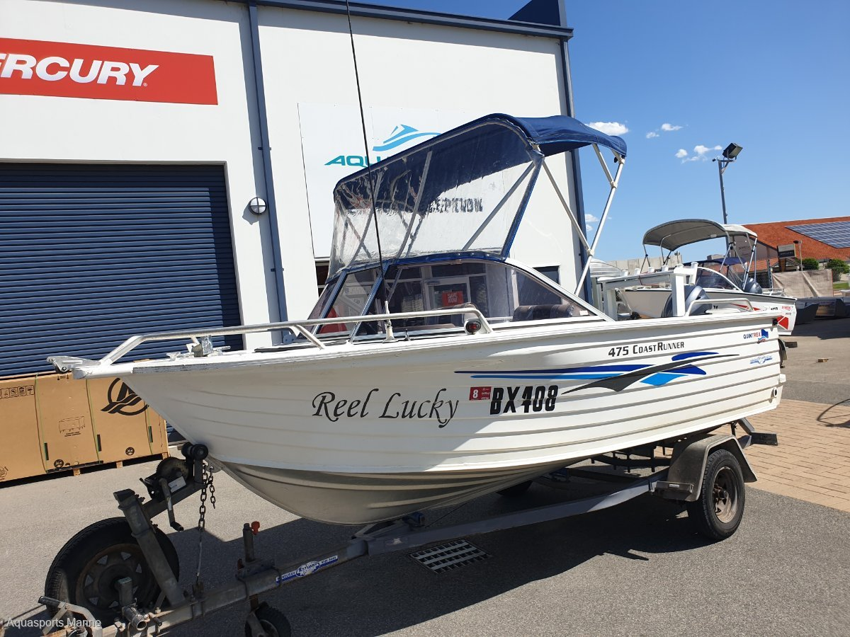Quintrex 475 Coast Runner New Motor