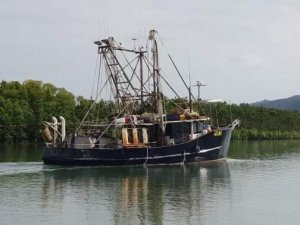 Steel Commercial fishing Trawler Margram