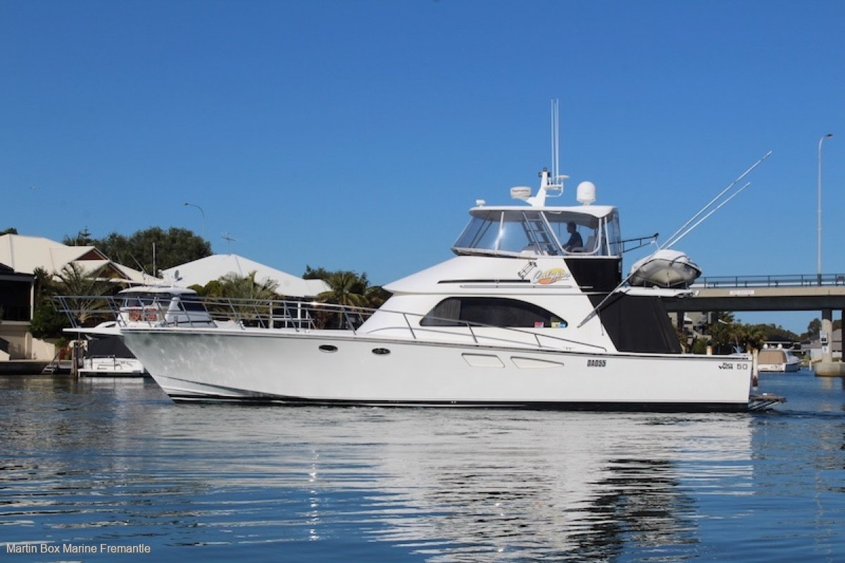 Key West 50 with Twin Cummins QSM 11s