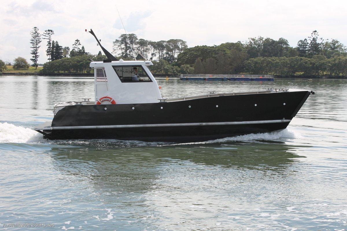 Custom Aluminium Work Boat