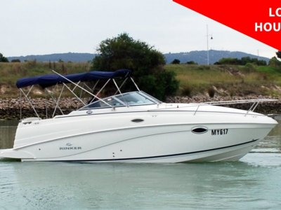 Rinker 250 Express Cruiser - LOW HOURS