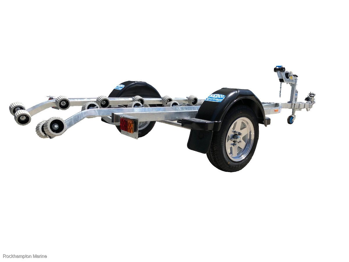 REDCO RE1213WT WAVE RUNNER GALVANISED JET SKI TRAILER TO SUIT UP TO 4.0M!!!