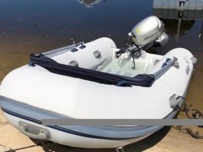 "Highfield Classic Deluxe 340 Inflatable Boat. 3.4mts. ""HIGHFIELD"" Aluminum Rib."