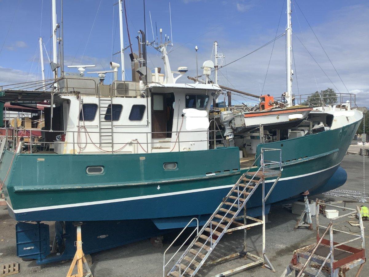 Sallymac Fishing Vessel 19.7M STEEL AFT WHEELHOUSE MULTI-PURPOSE VESSEL