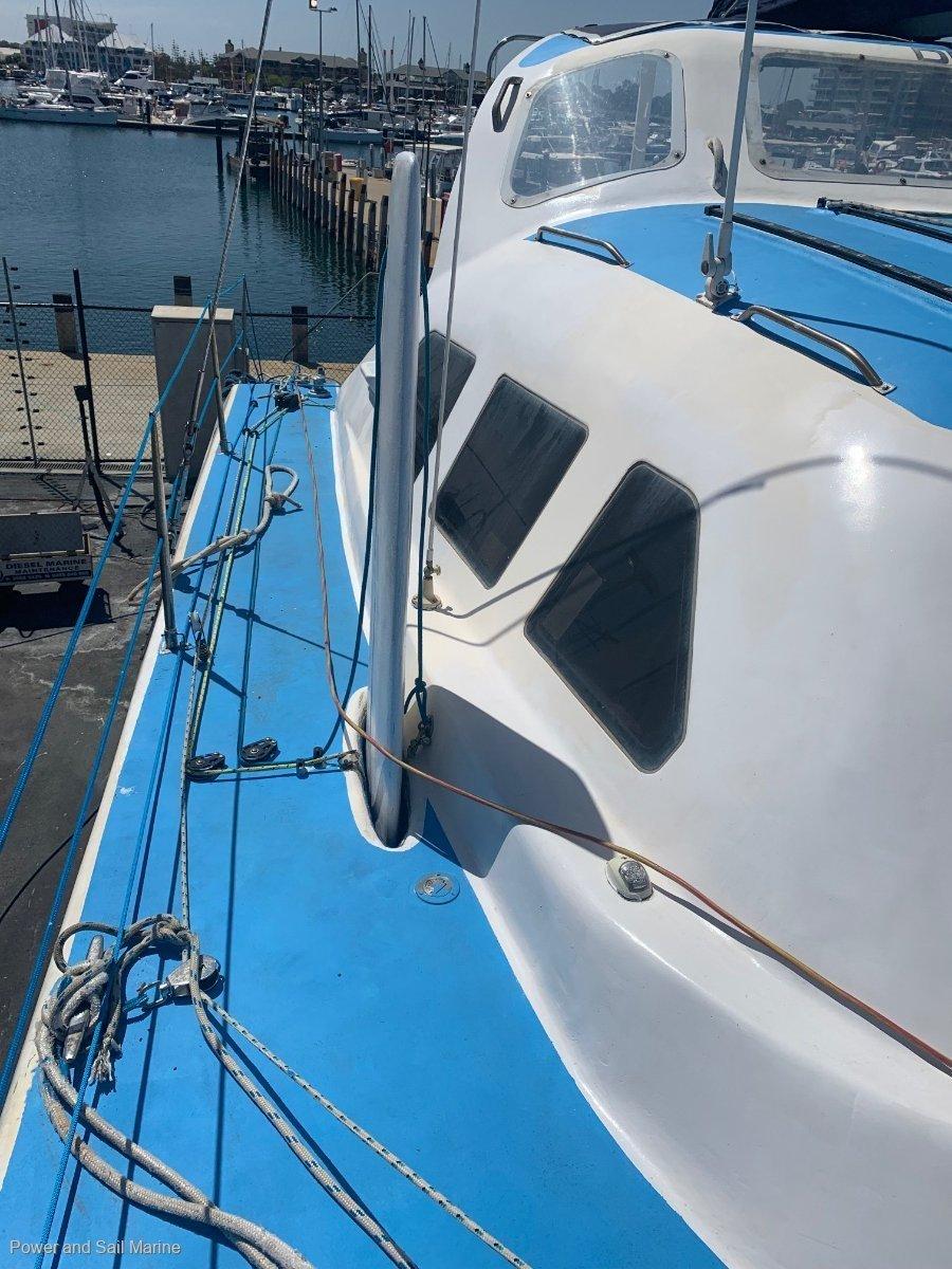 Crowther Sailing Catamaran Sturdy blue water cruiser