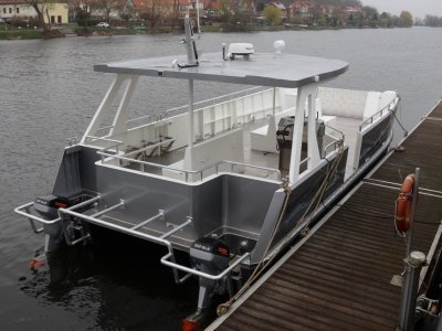100% Electric Passenger Catamaran