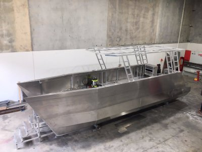 Demo Model 2020 Adventure Marine 850 Trailer Boat