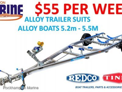 REDCO TA500MO-B ALLOY BRAKED BOAT TRAILER TO SUIT ALLOY BOATS 5.2M-5.5M!!!