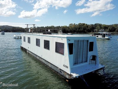 Custom 55 House boat