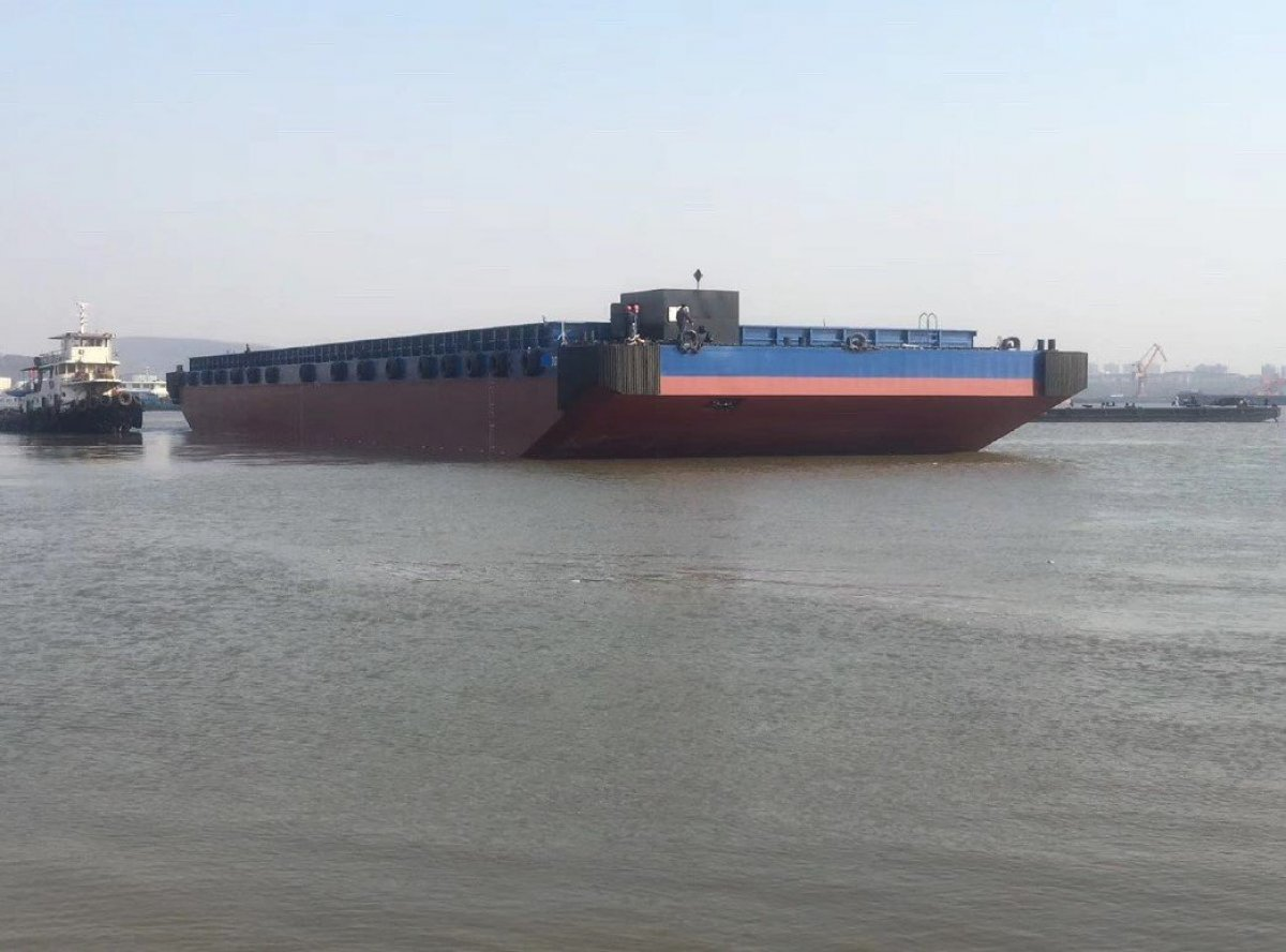 Australia Marine Services AMS Tugs and Barges Brand New barge to suit transhipment operations:Sister ship