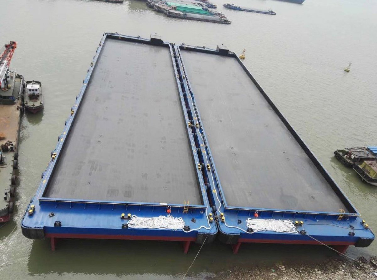 Australia Marine Services AMS Tugs and Barges Brand New barge to suit transhipment operations