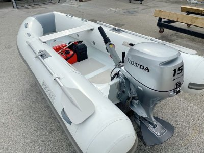 Sirocco Rib-Alloy 310 Rigid Inflatable Tender with Honda 15hp 4-stroke