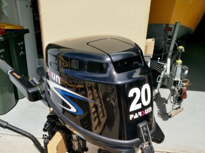 USED 2019 Parsun F20BMS 4-Stroke Outboard