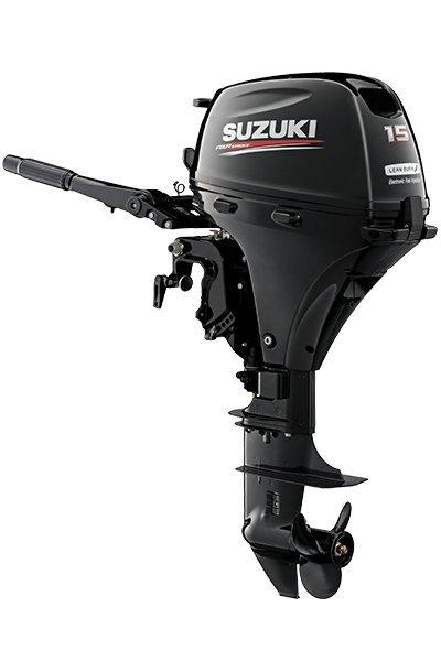 2018 USED Suzuki 15hp 4-Stroke Short Shaft Outboard