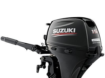 2018 USED Suzuki 15hp 4-Stroke Short Shaft Outboard