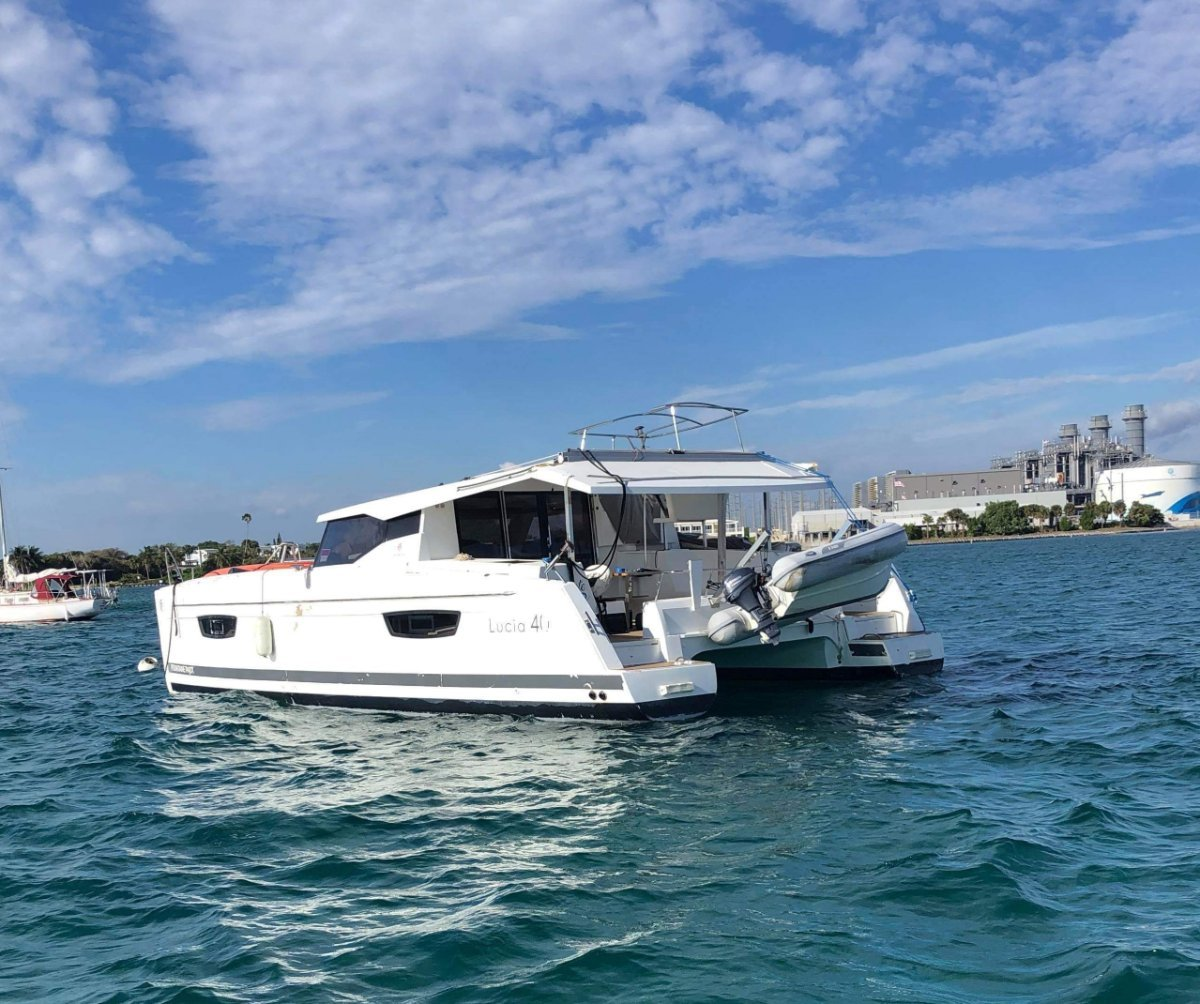 Fountaine Pajot Lucia 40 - Owner's Version w/ new rig included!