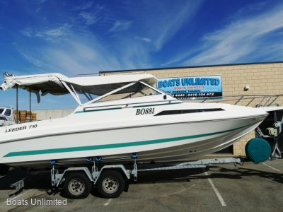 Leeder 710 Deluxe Hardtop PERFECT FAMILY FISHING BOAT FORSALE