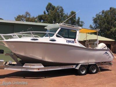 Alucraft 730 Hardtop Kimberley Explorer SPORTS CABIN PLATE ALLOY FISHING BOAT FOR SALE
