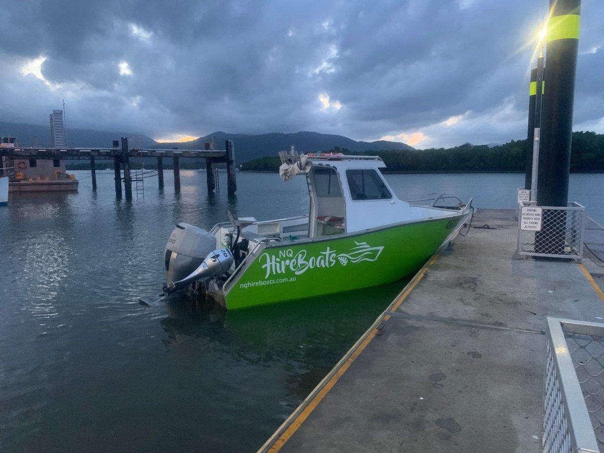 Amara NQ Hire Boats, AMSA Compliant
