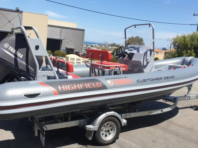 Highfield Patrol 600 Rigid Inflatable ***DEMO BOAT***