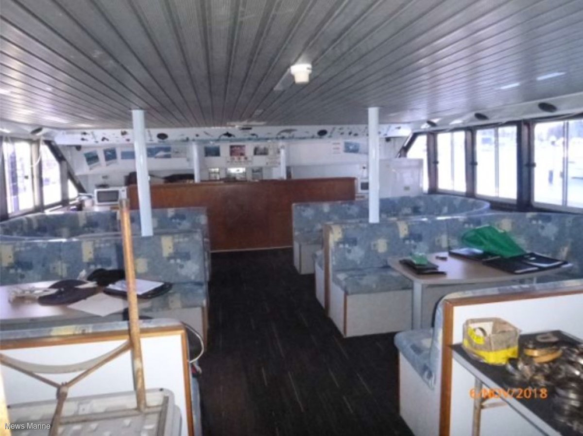 Custom 20m Whale Watching or Fishing Charter Cat