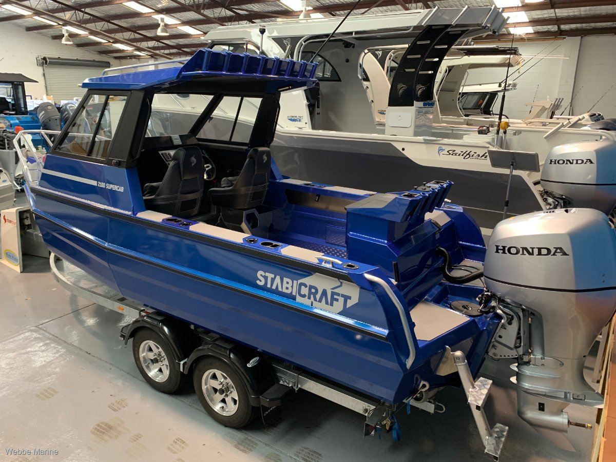 Stabicraft 2100 Supercab AVAILABLE FOR IMMEDIATE DELIVERY
