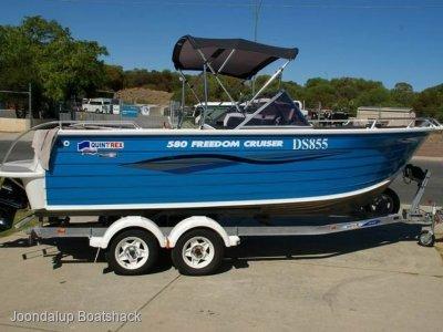 Quintrex 580 Freedom Cruiser 2008 V6 MPI