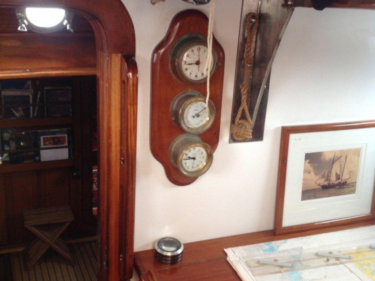 Wooden Custom Built Ketch Rigged