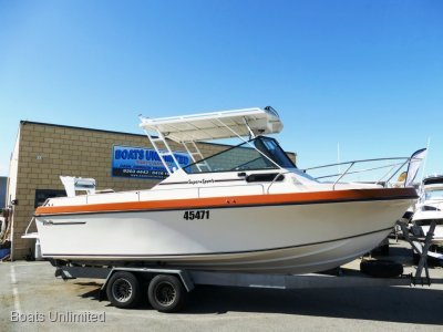 Baron Super Sports 23 OFFSHORE FISHING RIG FOR SOFT RIDE