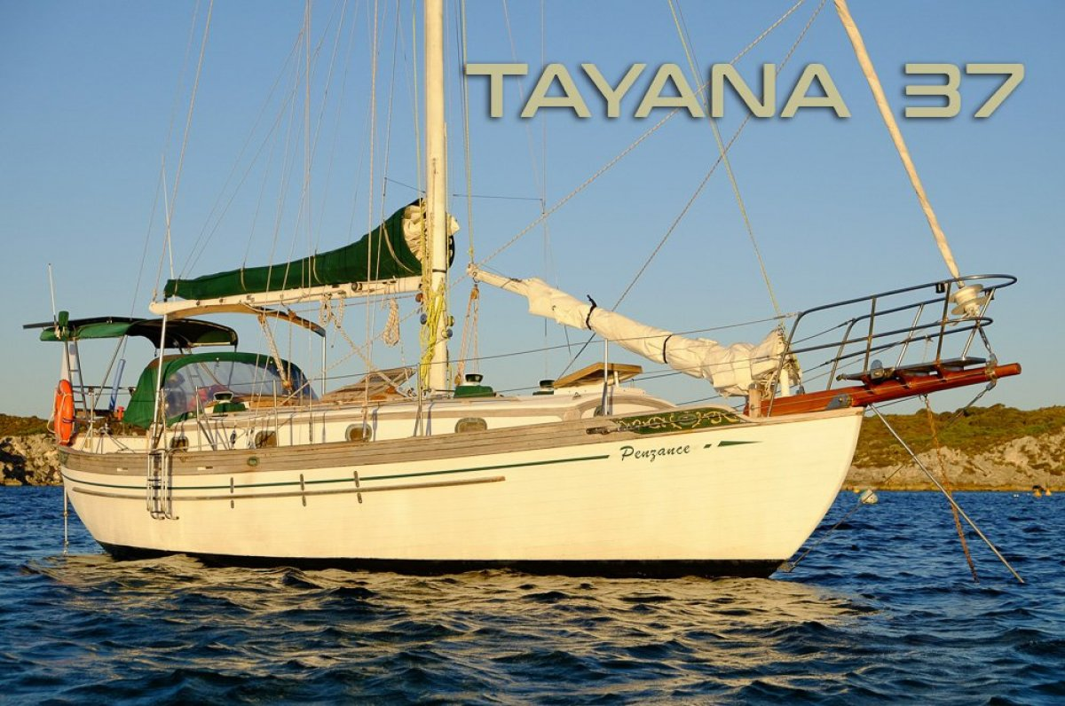 Tayana 37 - very well equiped blue water cruising yacht