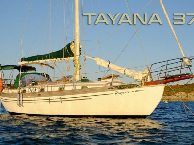 Tayana 37 - very well equiped blue water cruising yacht