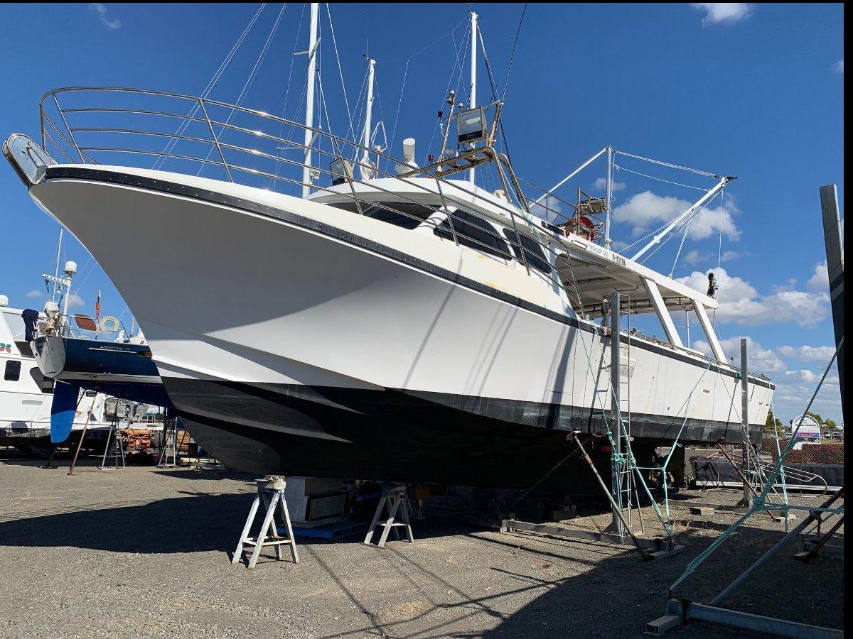 GRP commercial fishing Sandman 3B extended