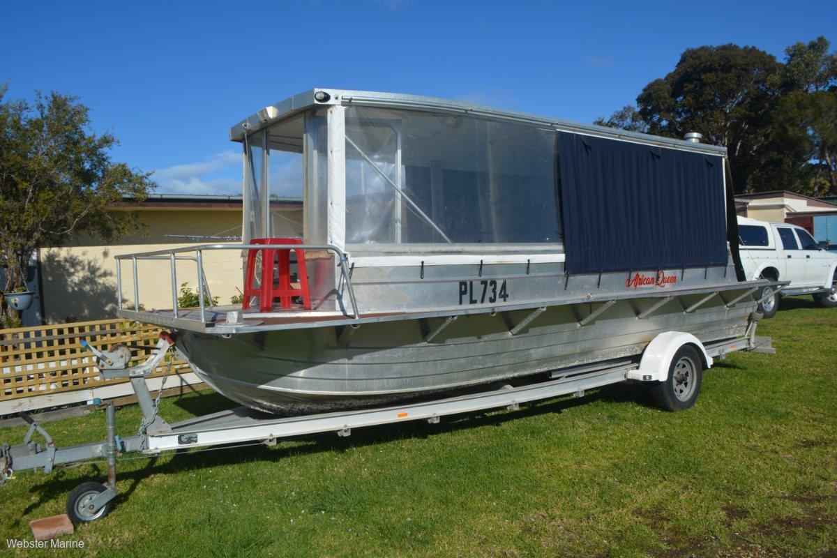 Custom Trailer Houseboat