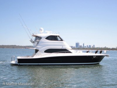 Riviera 51 Enclosed Flybridge *** POWERED BY Cat C18's *** $849,000***