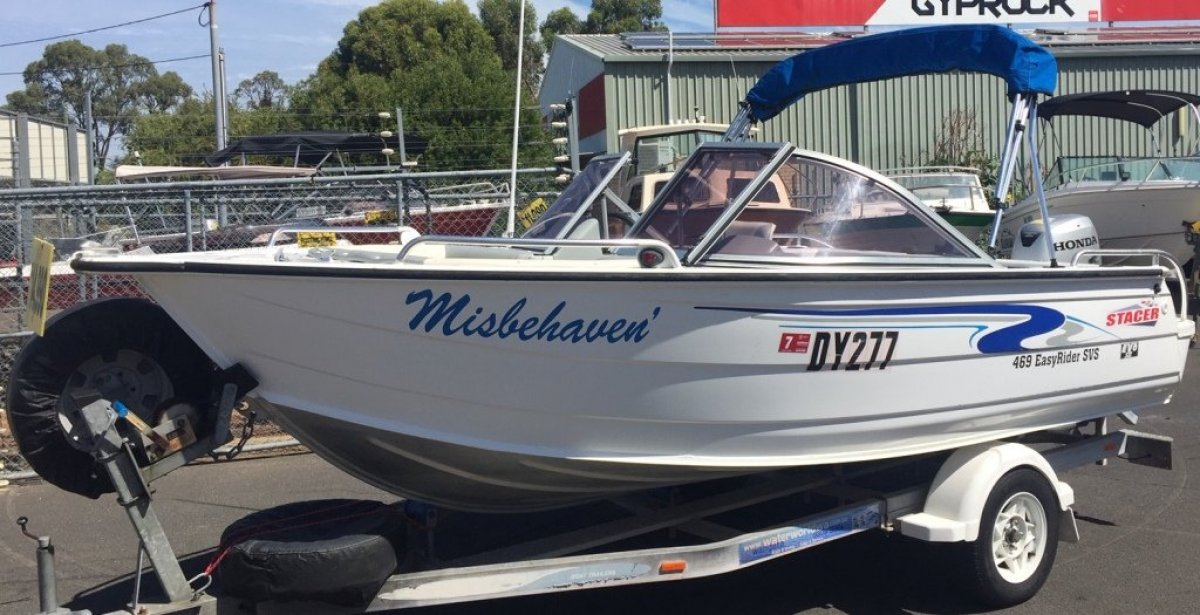 Stacer 469 Easy Rider Evo Hull Series II Bowrider