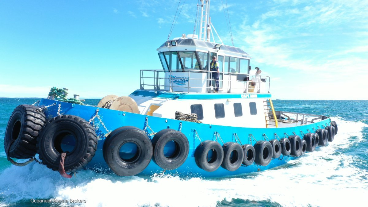 SBF Shipbuilders Harbour Tug