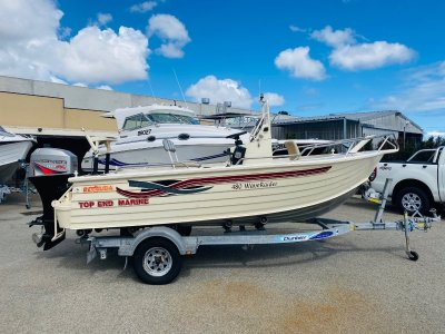 Bermuda 480 Wave Raider Centre Console with a 4 Stroke!!