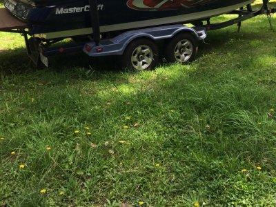 Mastercraft Ski Boat X9 wake board