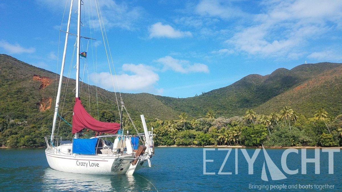 Contessa 26 - Sail the World in a proven pocket ocean cruiser
