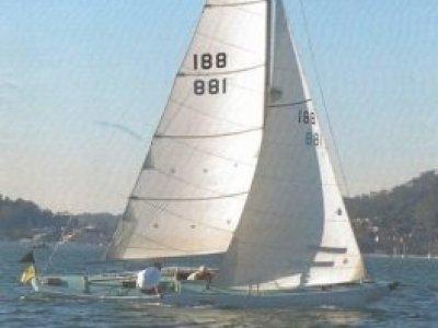 Dragon Rare raised deck classic sailing diesel (Sydney Ha