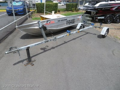 Flip 'N' Easy Fold-up Boat Trailer