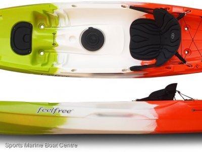 Feel Free Juntos kayak one seater or 1.5 seater