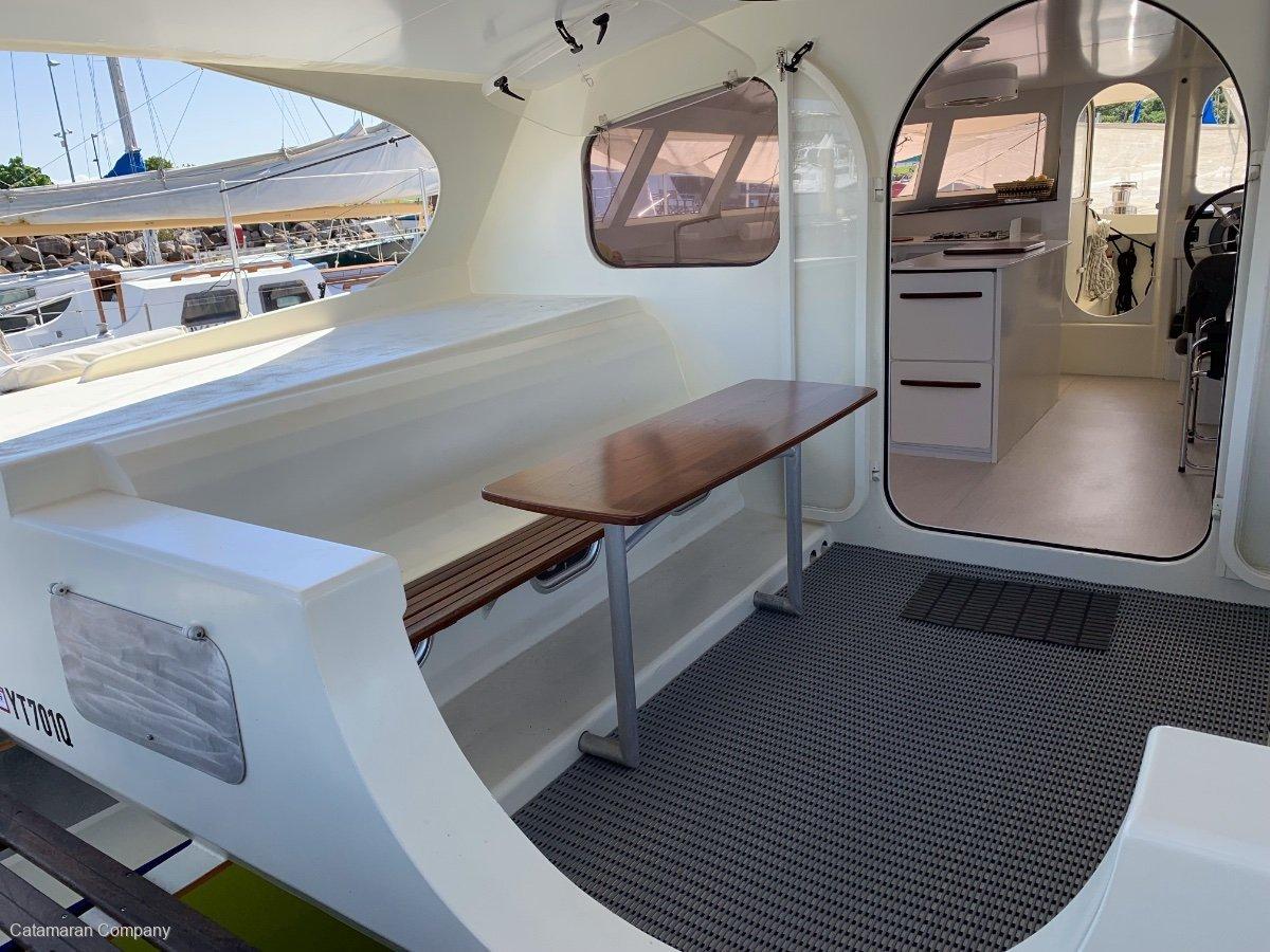 Mumby 49 Aluminium Performance Cruising Catamaran