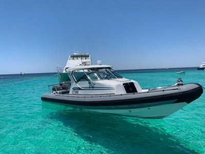 Protector 8.50 Cabin with Mackay trailer and nothing to spend!- Click for more info...