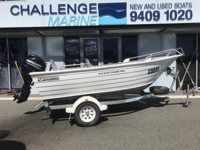 Horizon Aluminium Boats 415 Easy Fisher