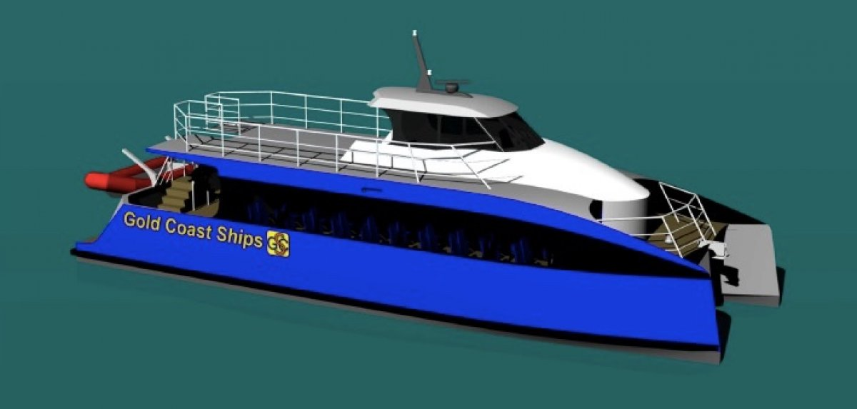 22m fast Catamaran Kitset