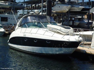 Maxum 3500 New manifolds and rises done April 2020