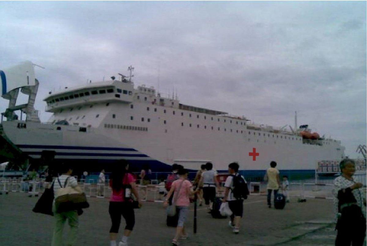 Sabrecraft Marine Hospital Ship Covid Isolation Ship