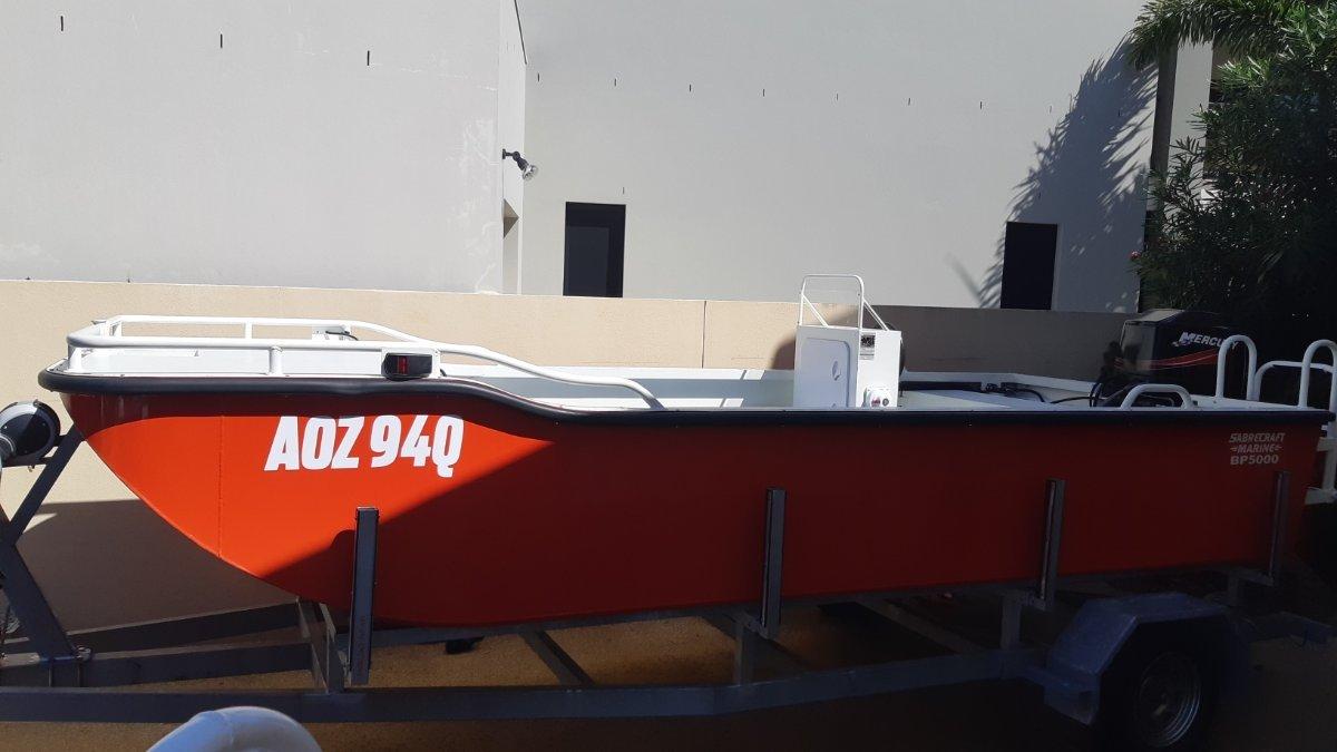 New Sabrecraft Marine BP5000 Brute Punt Side Console