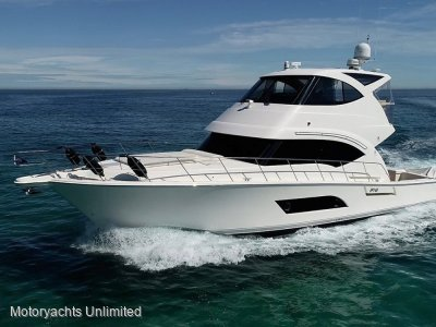 Riviera 53 Enclosed Flybridge **** Available NOW! ****
